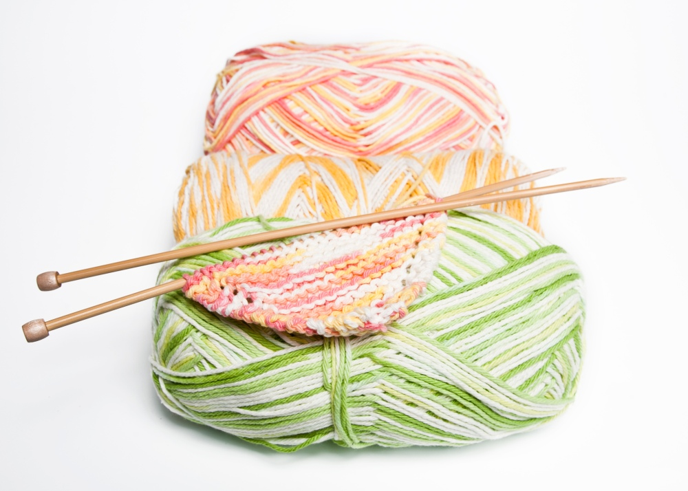 spring dish cloths